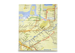 Futrola za tablet NY Subway Map