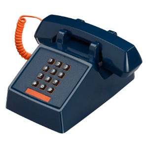 80's Telefon - Atlantic Blue
