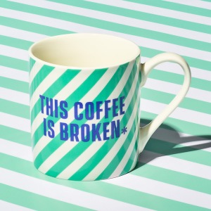 Šolja-This Coffee is Broken-Yes Studio