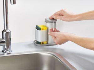 Duo Soap dispenser with sponge holder-organizator za sudoper